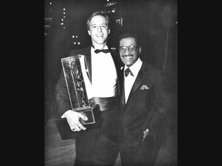 Picture of Earl Quenzel and Sammy Davis Jr.