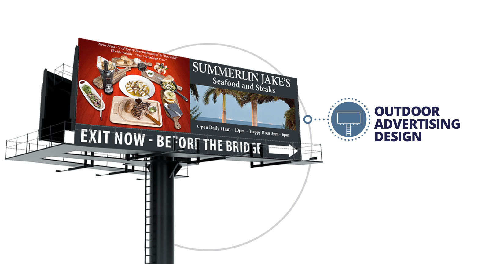Quenzel Marketing Agency | Outdoor Advertising Design