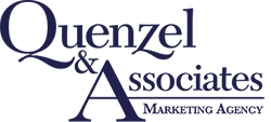 Quenzel Marketing Agency Sticky Logo