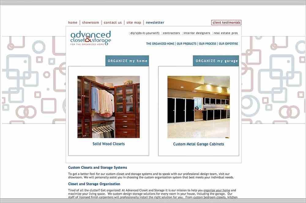 Contractor Website Design Agency | Closets