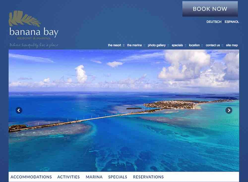 Hotel Website Design Agency - Banana Bay