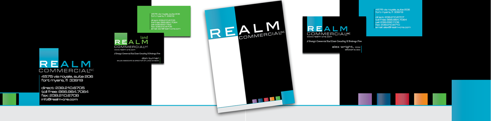Business Branding Agency B2B Creative for Realm Commercial