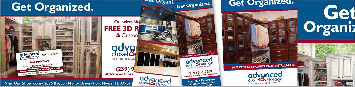 Contractor Advertising Agency Creative | Custom Closets by ACAS