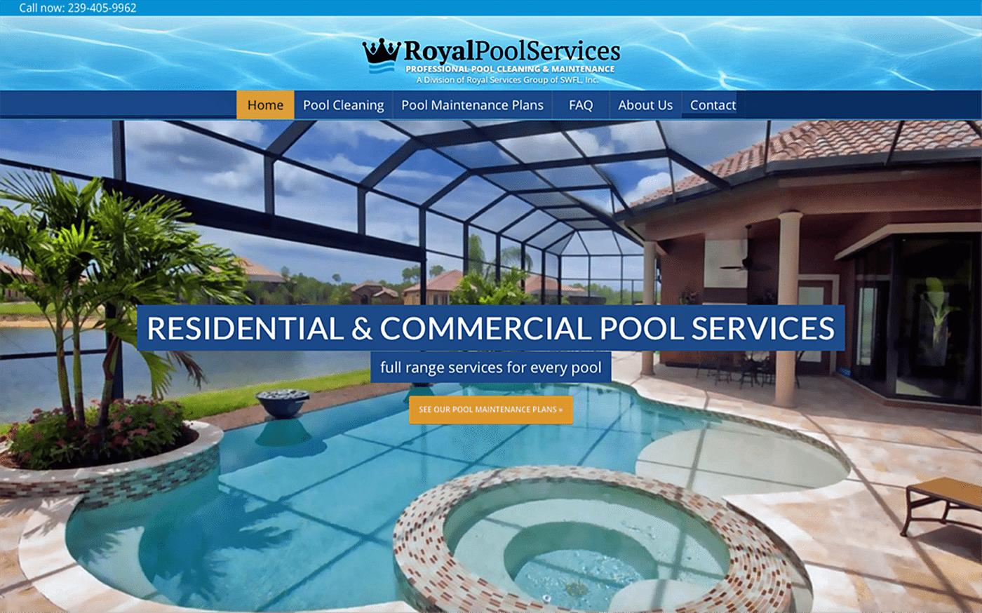 Contractor Marketing Agency - Contractor Marketing Campaign Creative: Pool