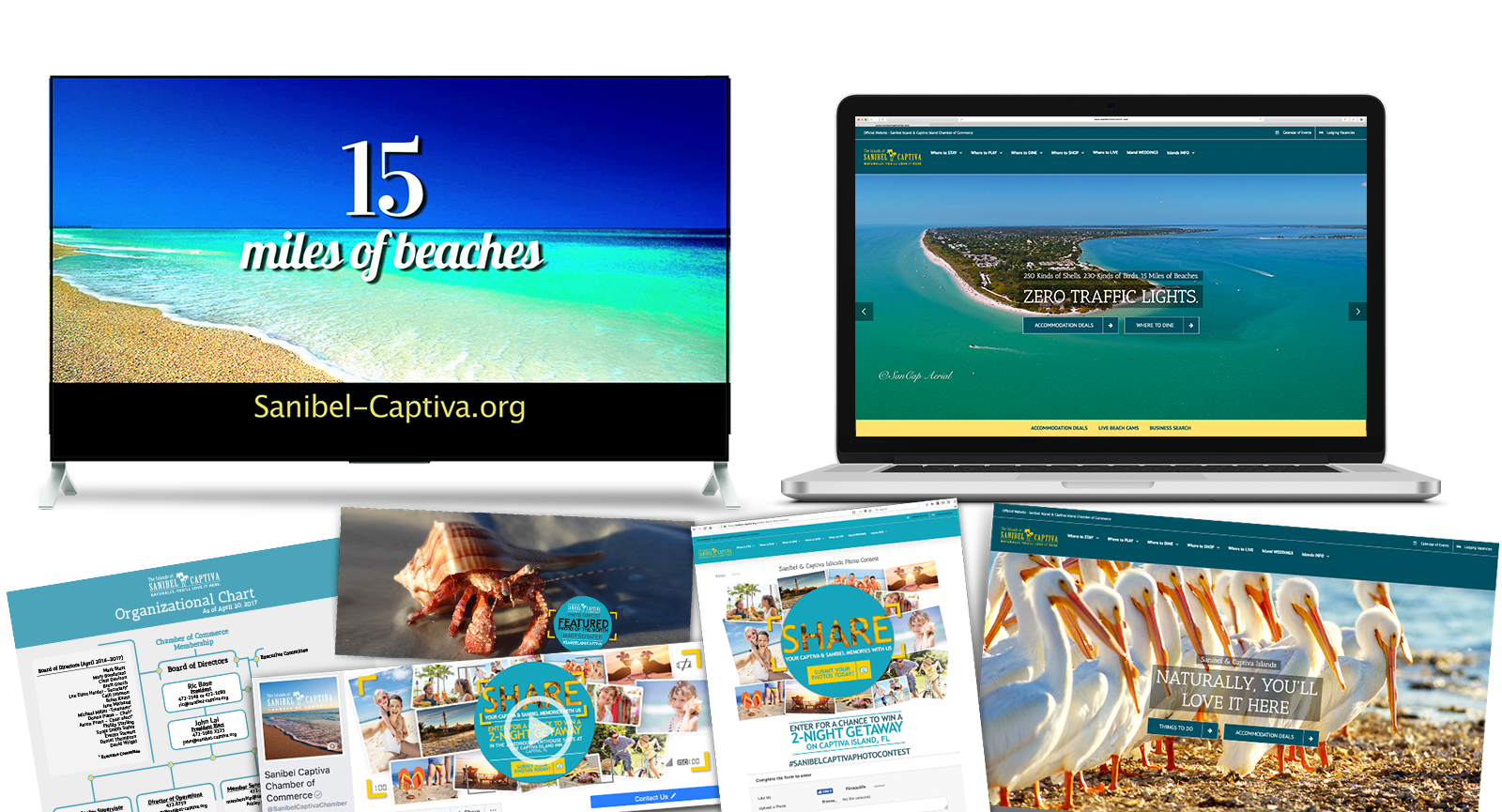 Destination Marketing Agency Creative for Sanibel Island