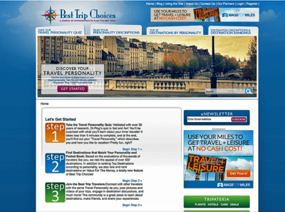 Destination Website Design Agency Creative |Best Trip Choices