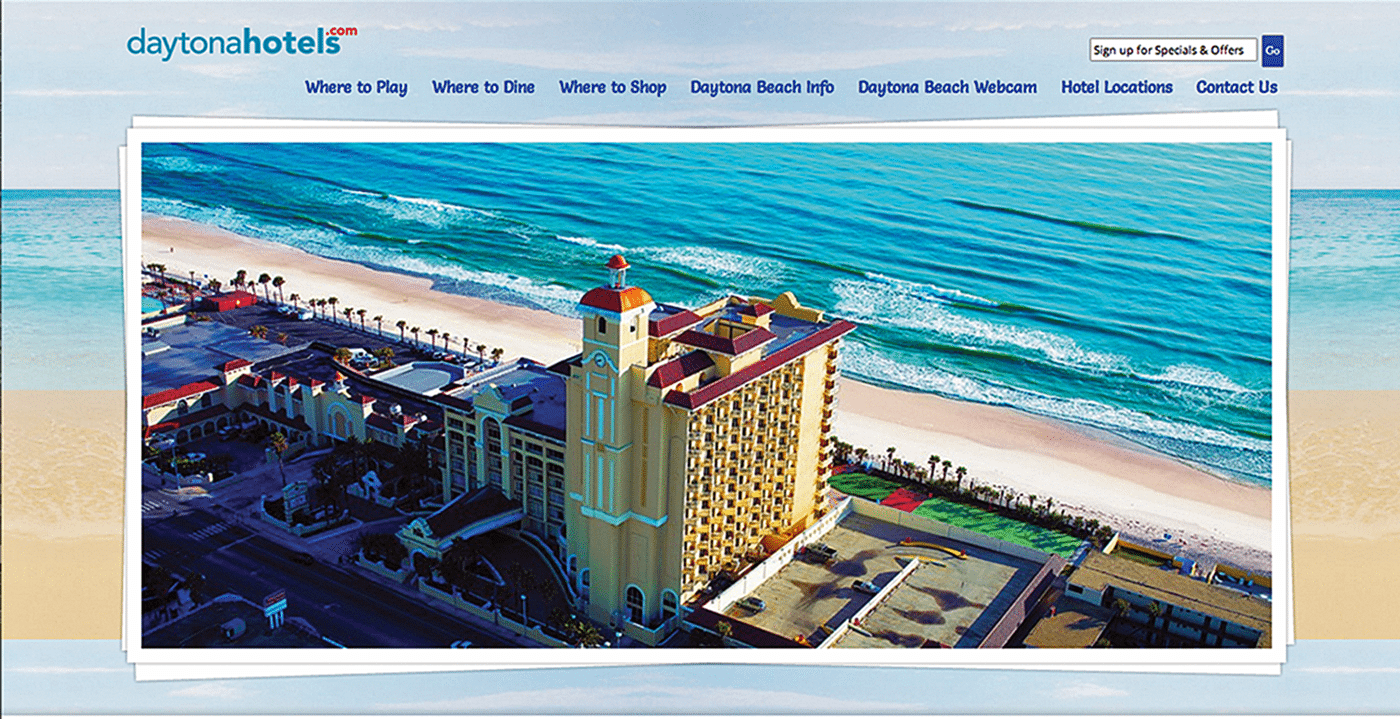 Destination Website Design Agency Creative | Daytona