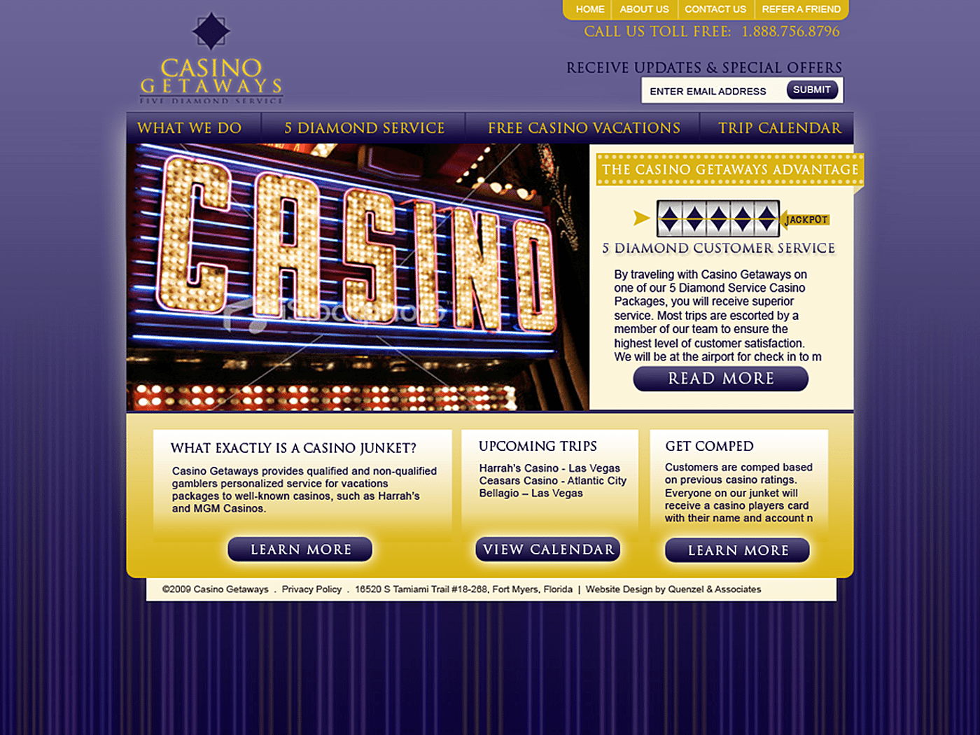 Destination Website Design Agency Creative |Casinos