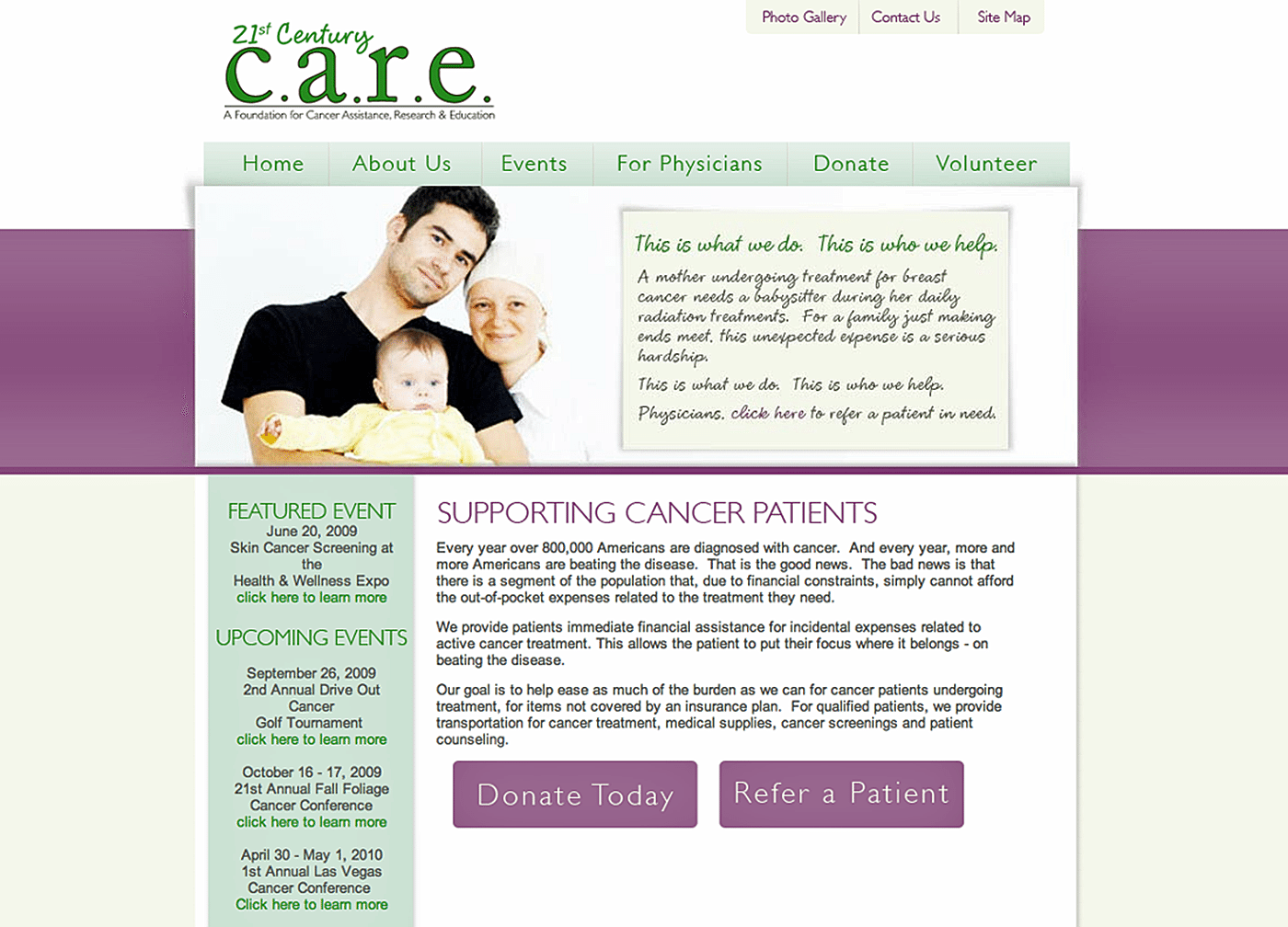 Healthcare Website Design Agency Creative | 21st Century Care