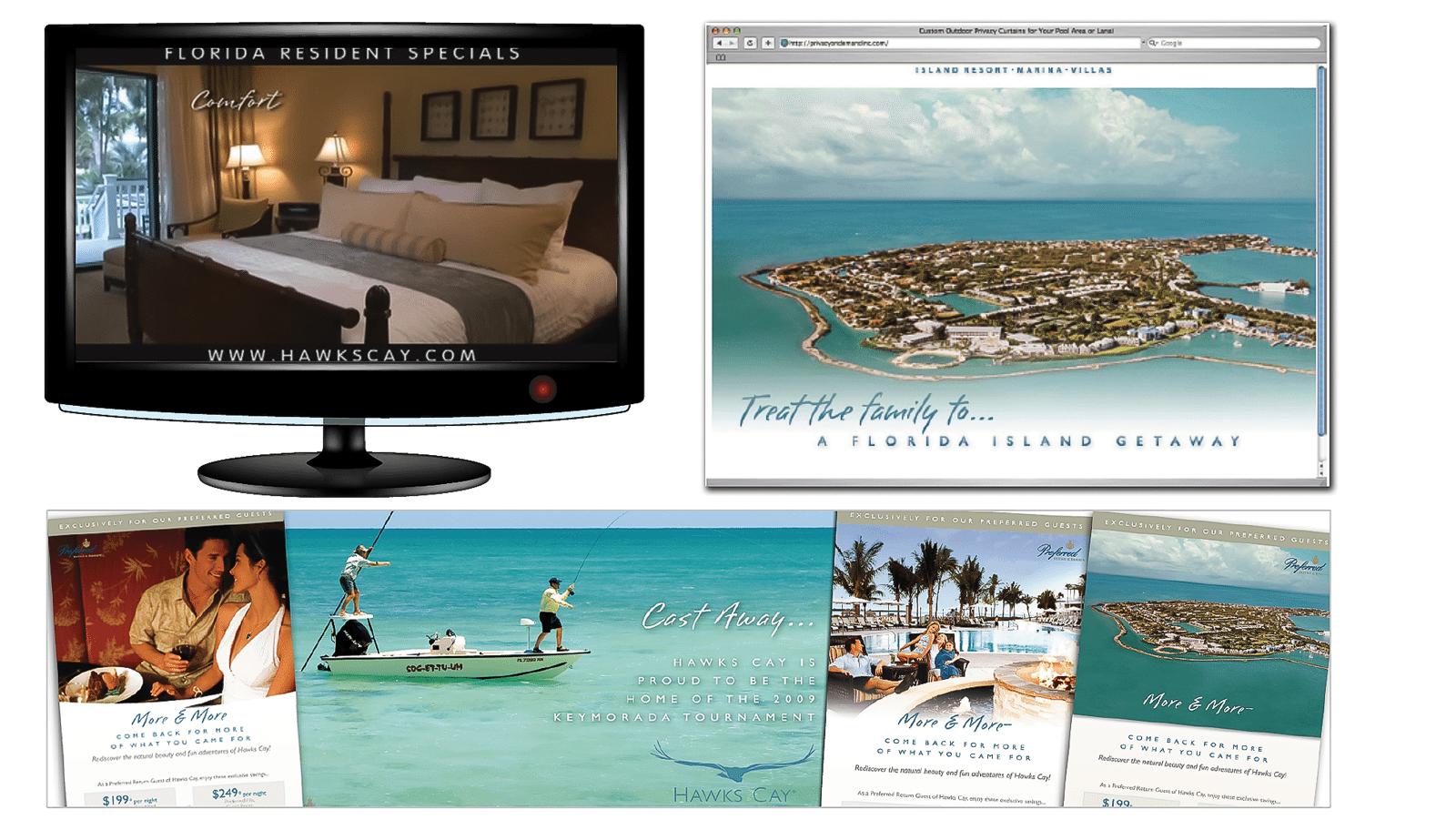 Hotel Marketing Agency - Hotel Marketing Campaign Creative for Hawks Cay