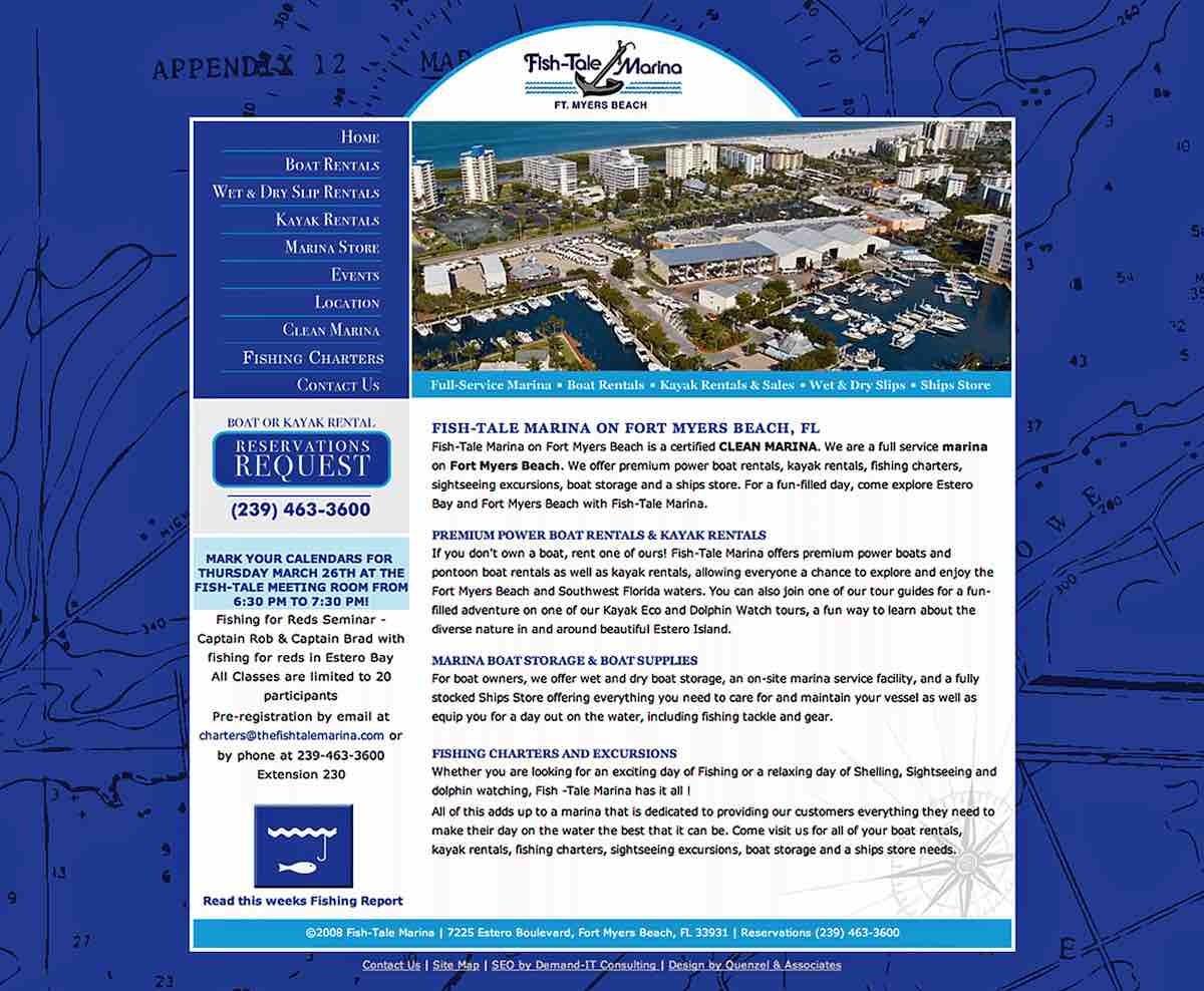 Marine Advertising Agency Creative | Fish-Tale Boat Sales