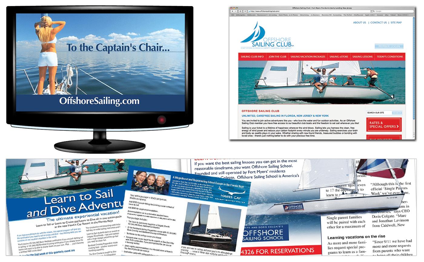 Marine Branding Agency Creative | Offshore Sailing School