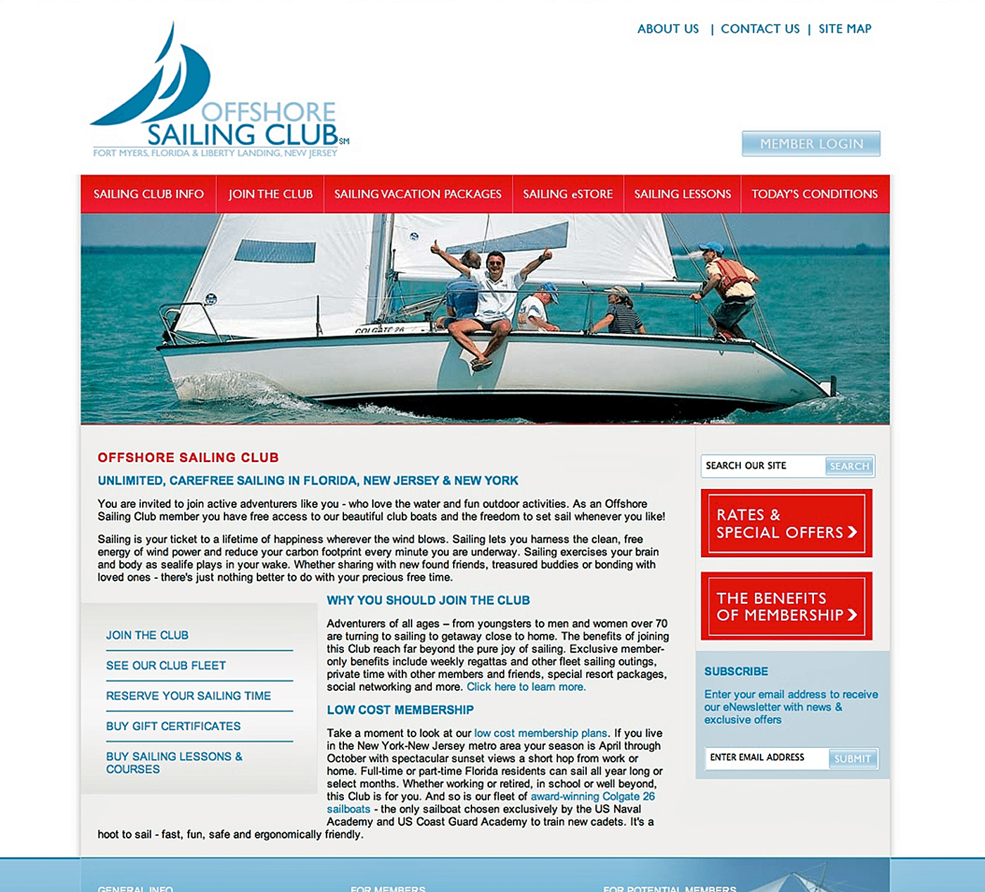 Marine Website Design Agency Creative | OSS