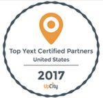 Top YEXT Certified Partners Badge