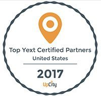 Quenzel Marketing Agency Top YEXT Certified Partner Badge