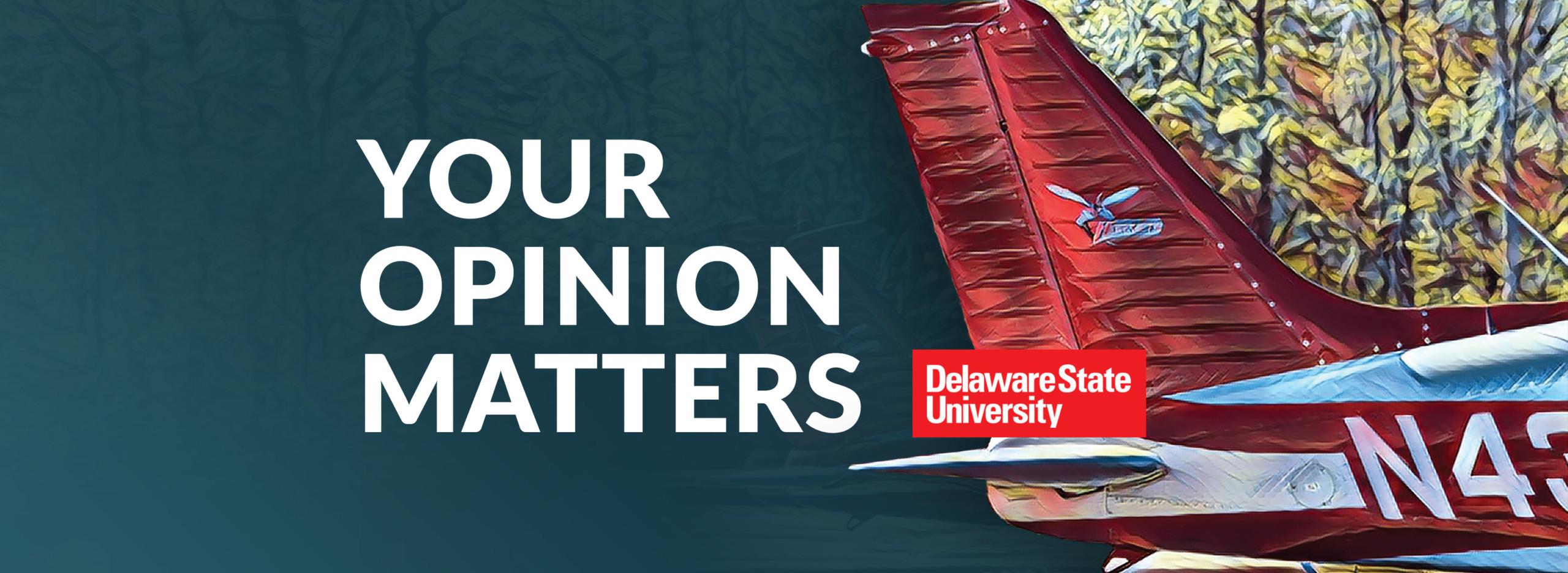 Aviation Program Alumni Survey header | Delaware State University