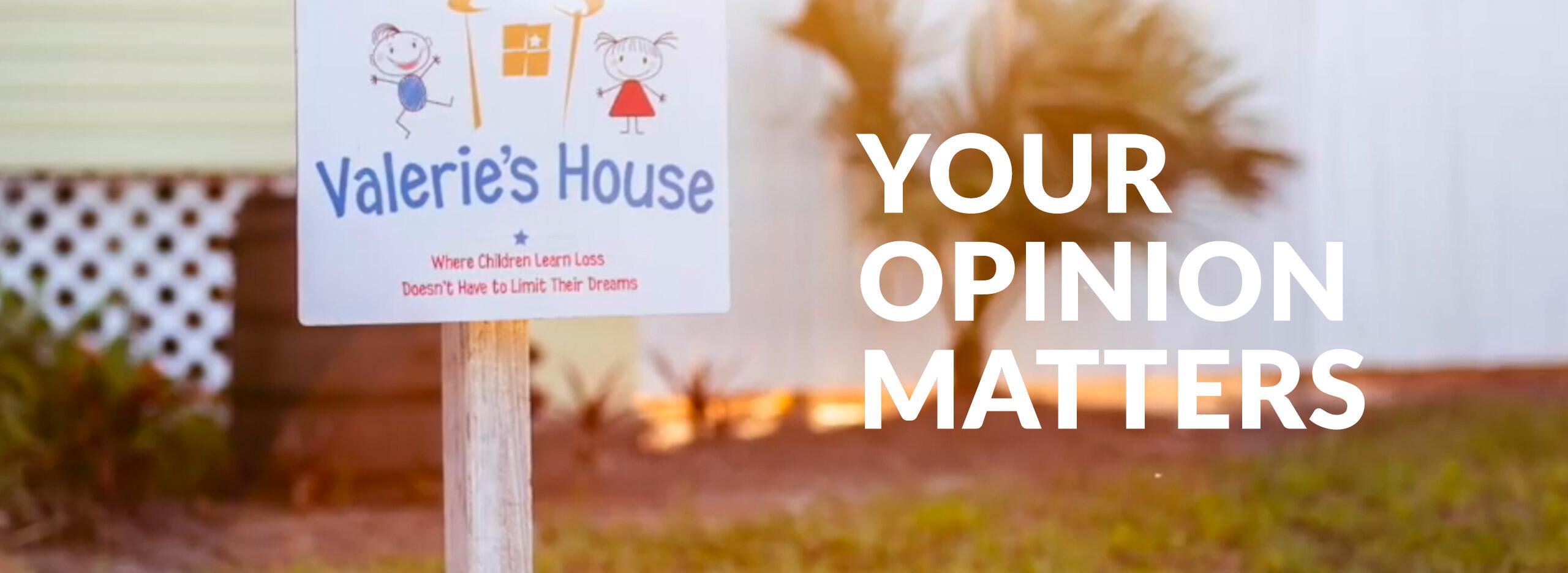 Valerie's House Executive Audit Survey header | Valerie's House