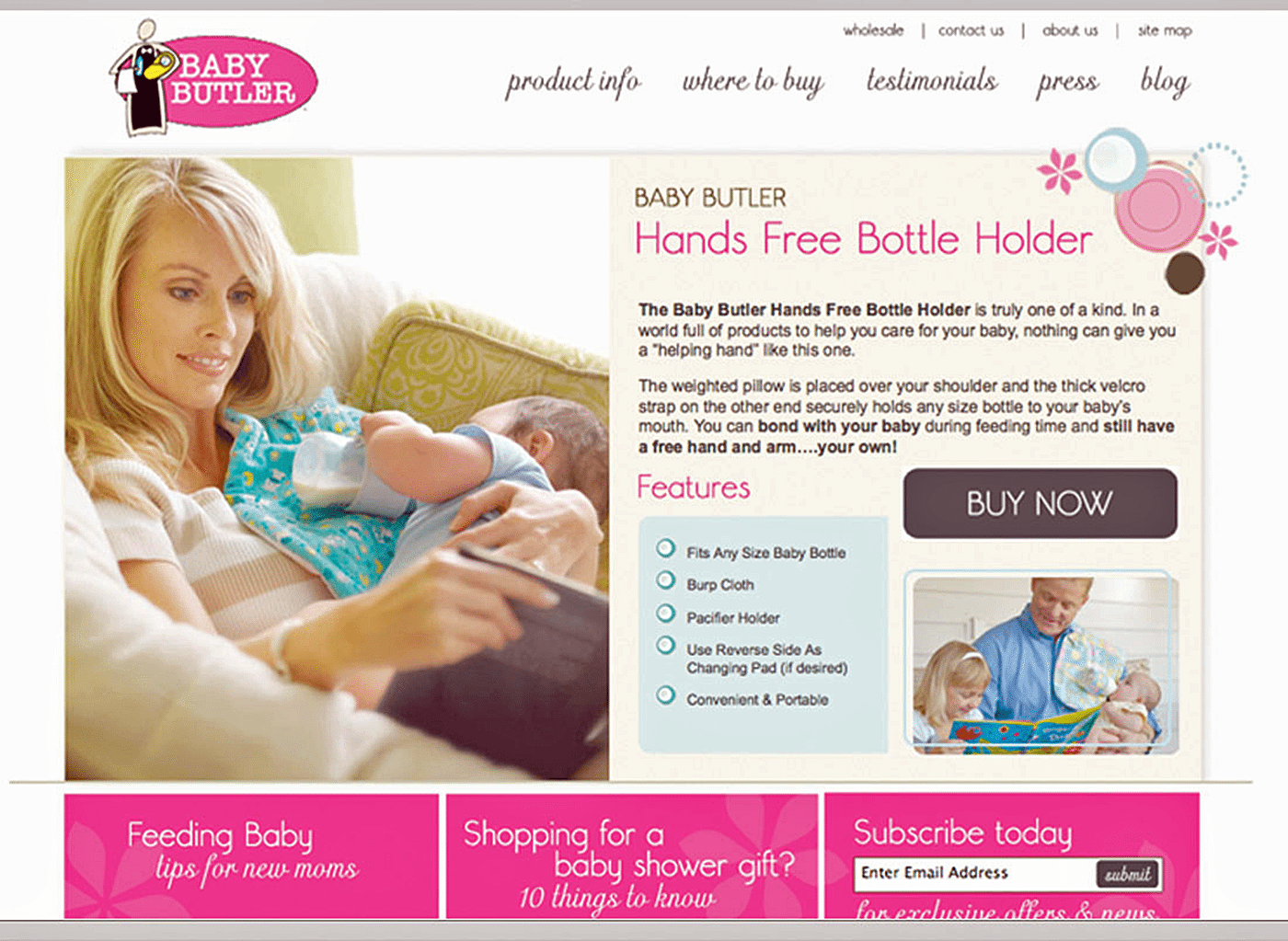 Product Marketing Agency | Product Marketing Creative for Baby Butler