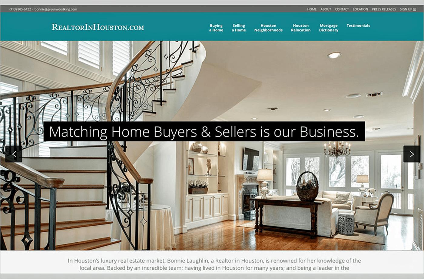 Realtor Website Design Agency | Houston