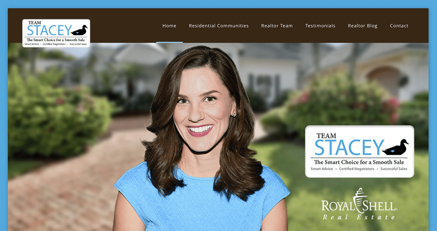 Realtor Website Design Agency | Team Stacey