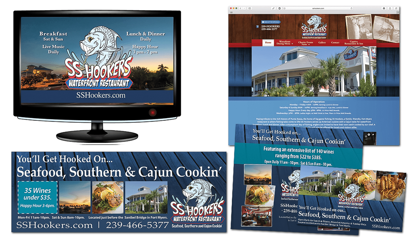 Restaurant Advertising Agency Creative | Integrated Advertising Campaign: Sanibel
