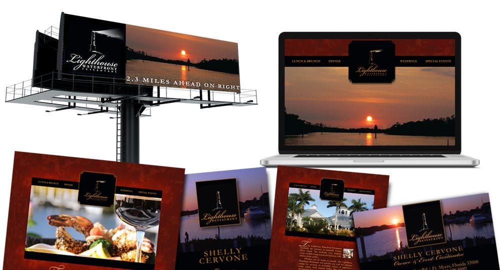 Restaurant Branding Agency Creative | Fort Myers - Lighthouse Waterfront Restaurant