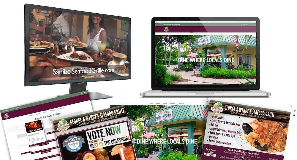 Restaurant Branding Agency Creative | Sanibel Island - SSG