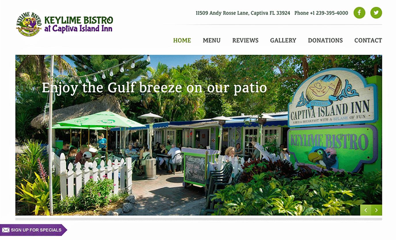 Restaurant Website Design Agency | Restaurant Website Design Creative for Bistro