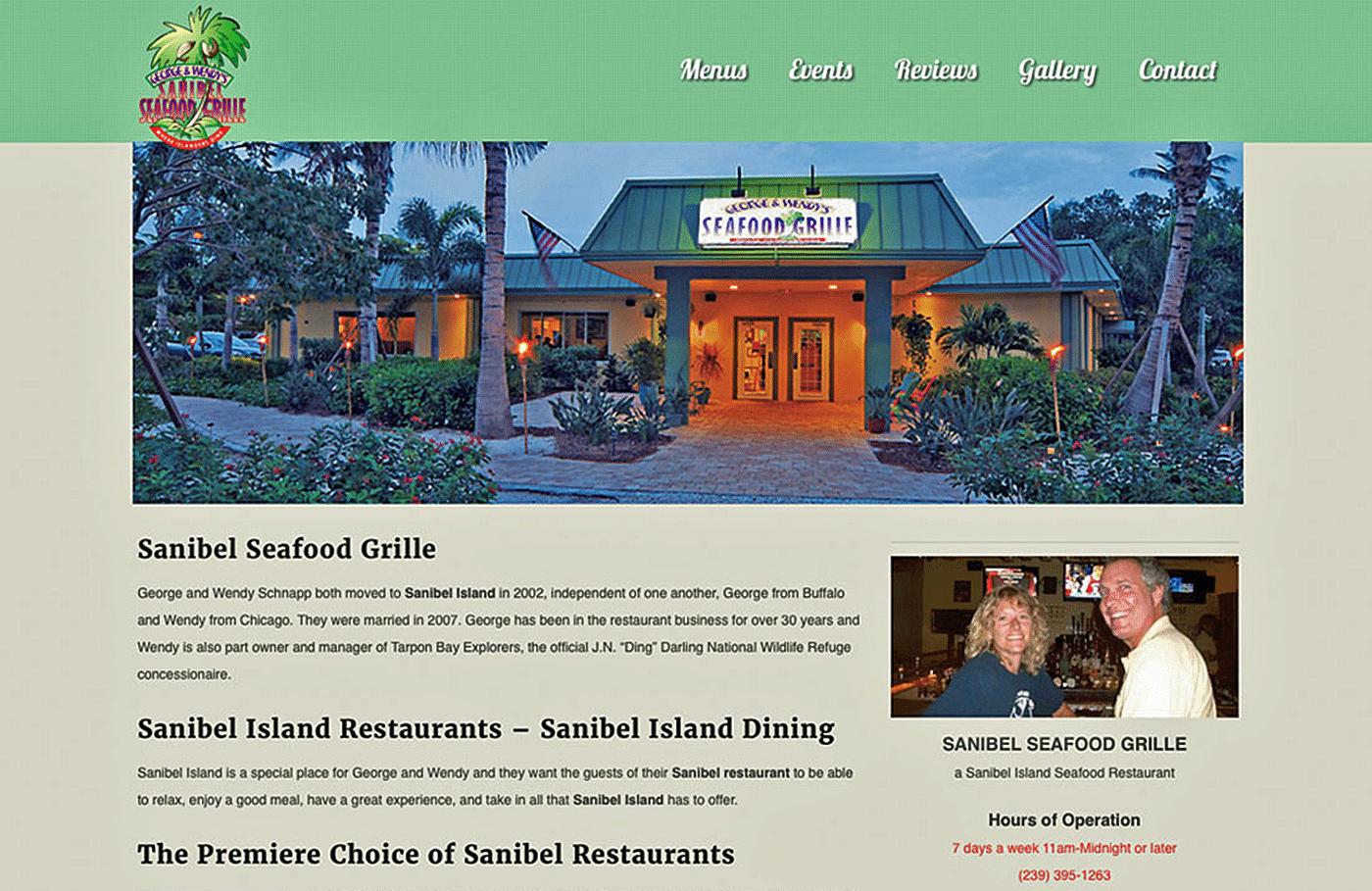 Restaurant Website Design Agency | Restaurant Website Design Creative for SSG