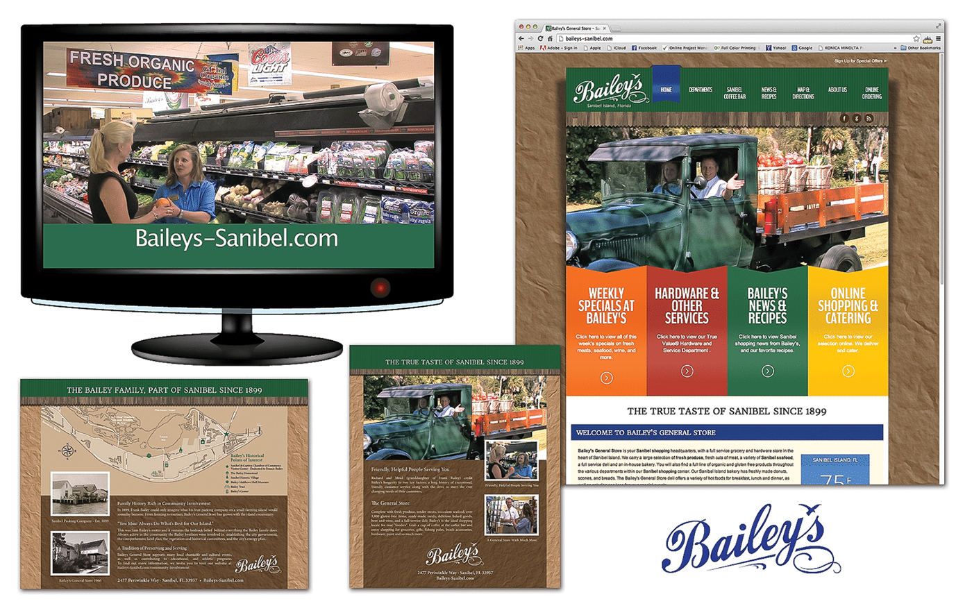 Retail Advertising Agency Agency Creative for Bailey's General Store