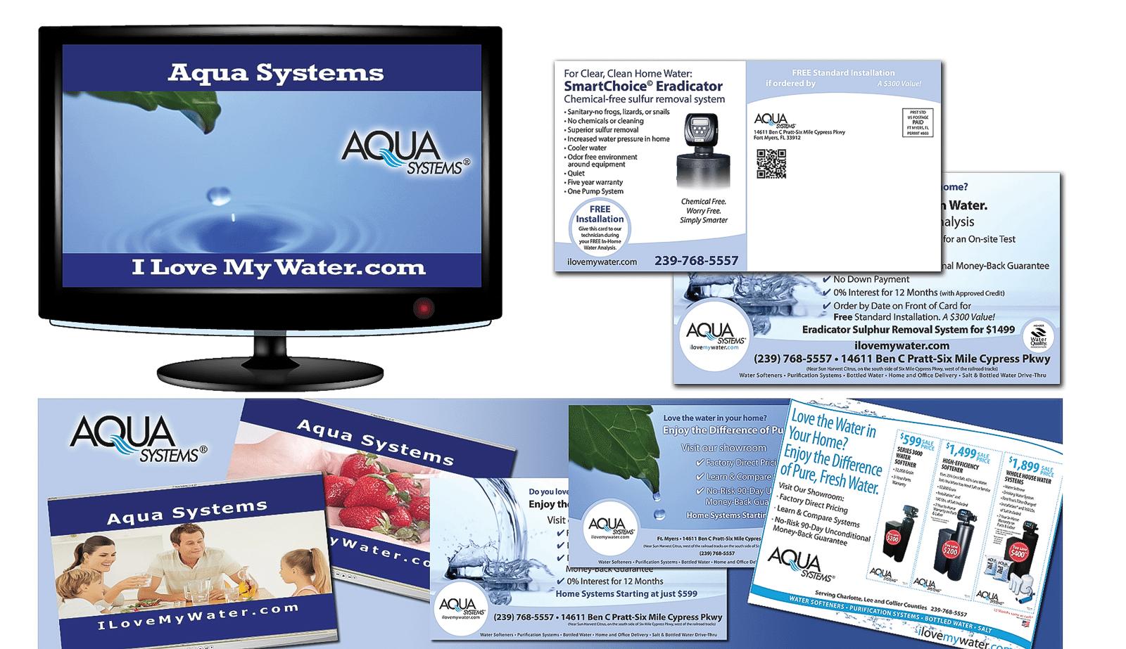Retail Marketing Agency Creative | Aqua Systems
