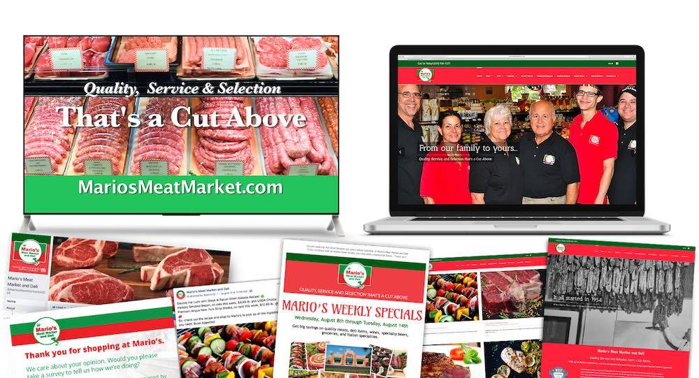 Quenzel Retail Marketing Agency Creative | Fort Myers, Florida - Mario's