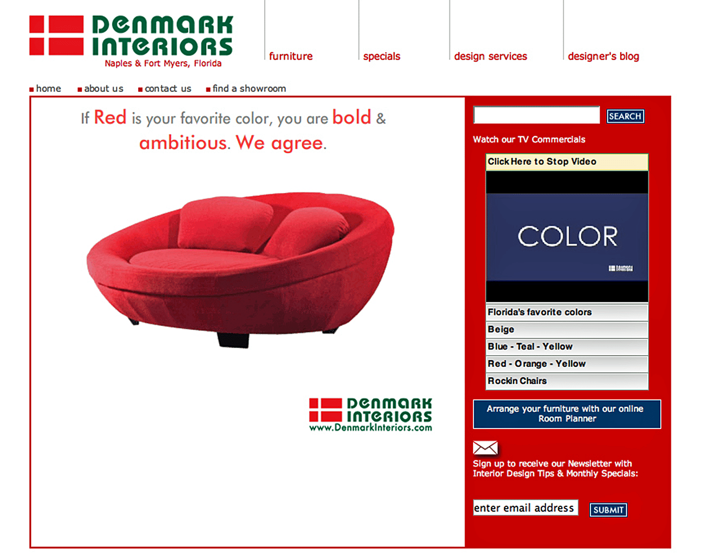 Retail Website Design Agency Creative | Furniture