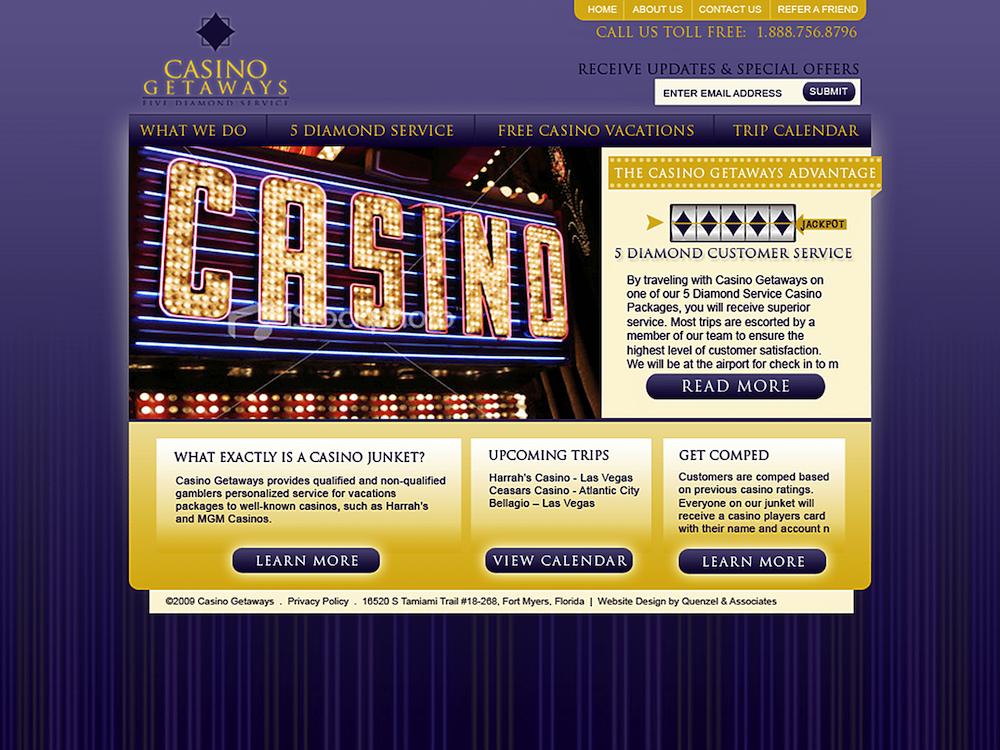 Website Design Agency Creative | Casinos