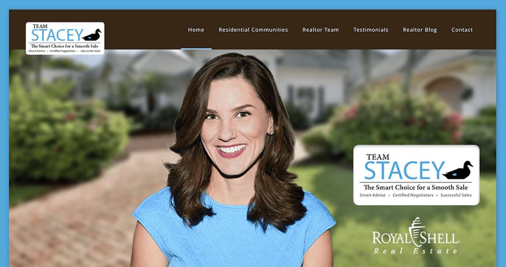 Website Design Agency Creative - Team Stacey